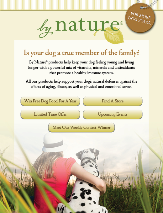 By Nature Facebook landing page