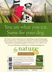 By Nature ad with coupon