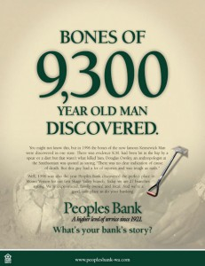 Peoples Bank Bones ad